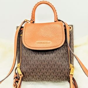 Michael Kors Extra Small Monogram Backpack